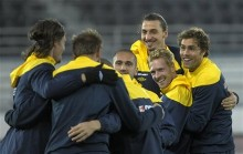 Finland soccer Euro 2012 Sweden