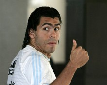 BRITAIN MAN UNITED TEVEZ