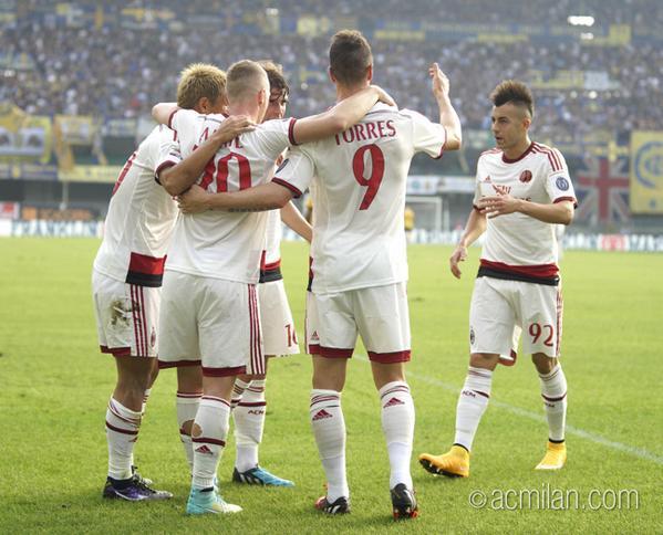Верона - Милан 1-3
