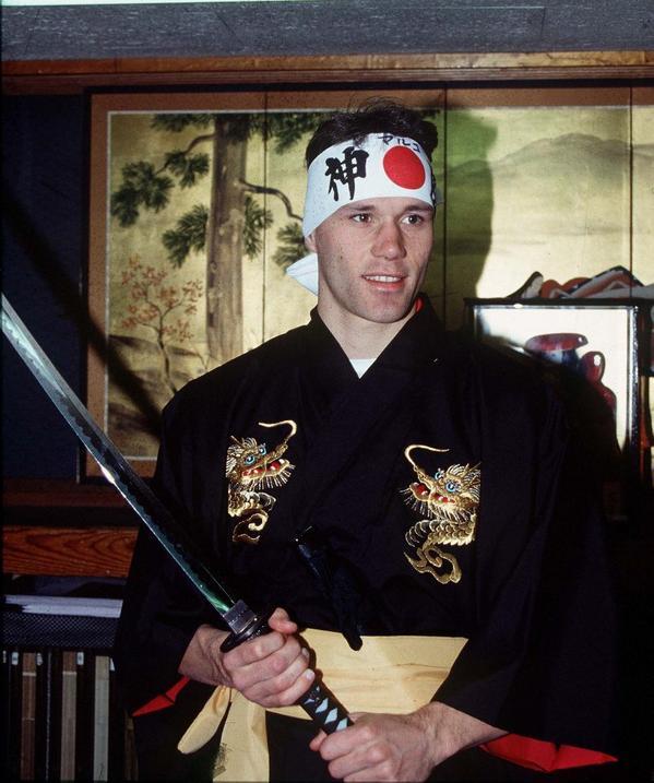Марко ван Бастен - самурай