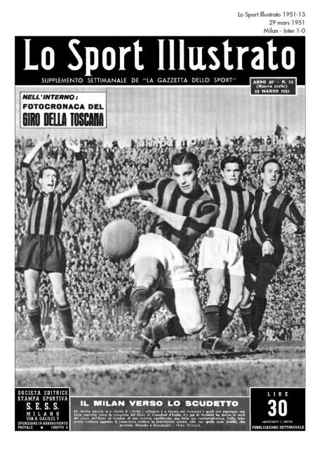 Бизон против Интера-1951-дерби второго круга