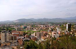 панорама фрозиноне