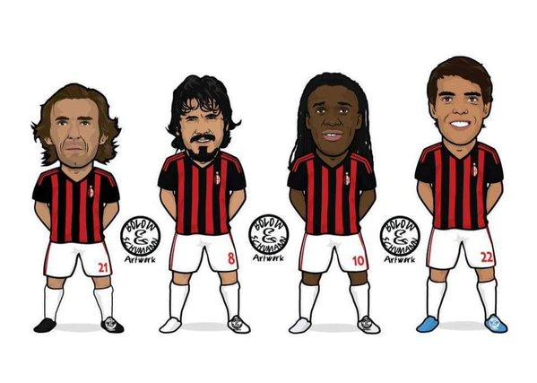 Полузащита Милана в 2000-х