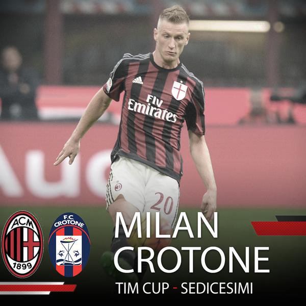 Онлайн трансляция матча Милан - Кротоне