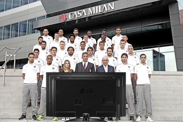 Время Лиги чемпионов для Милана