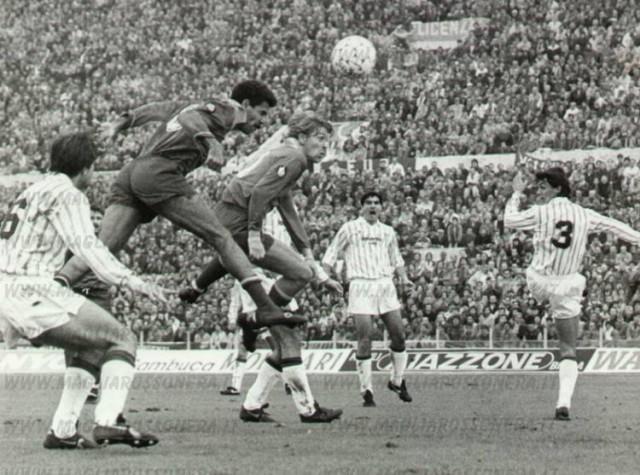 1985 Первый матч Мальдини