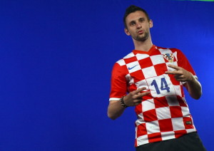 SALVADOR, BRAZIL - JUNE 05: Marcelo Brozovic of Croatia poses during the official Fifa World Cup 2014 portrait session on June 5, 2014 in Salvador, Brazil.  (Photo by Lars Baron - FIFA/FIFA via Getty Images)