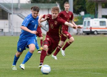 Риккардо Тонин в составе команды U-16