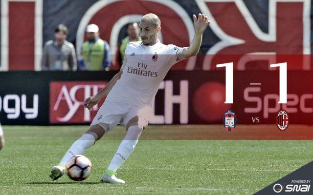 Кротоне - Милан 1-1