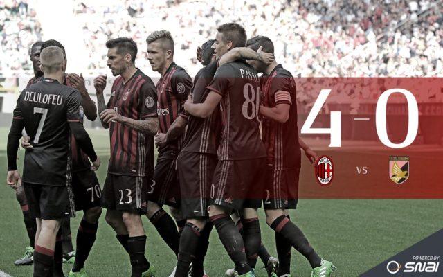 Милан - Палермо 4-0