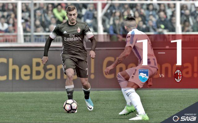 Пескара - Милан 1-1