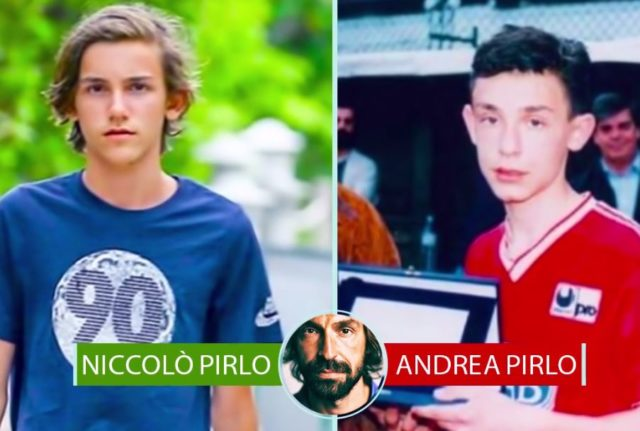 Сын Андреа Пирло