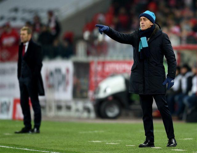 Роберто Манчини Тренирует Зенит (Россия), контракт до лета 2020 года