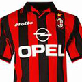 Форма Милана сезон 1997-1998