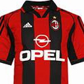 Форма Милана сезон 1998-1999