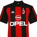 Форма Милана сезон 2000-2002