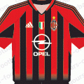 Форма Милана сезон 2004-2005
