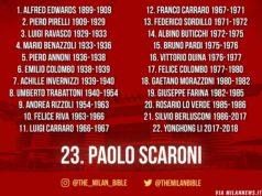 Скарони - 23 президент Милана