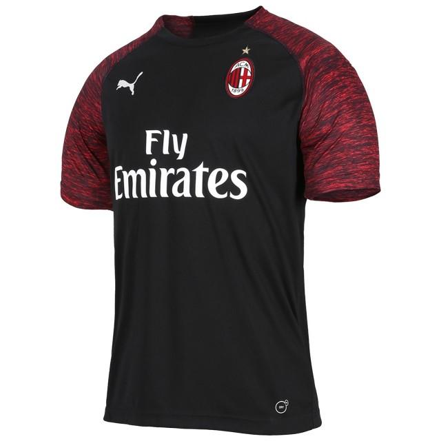 запасная форма Милана сезон 2018-2019, третий комплект