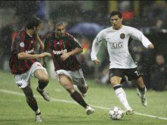 Оддо и Гаттузо против Роналду в полуфинале ЛЧ (02/05/2007)