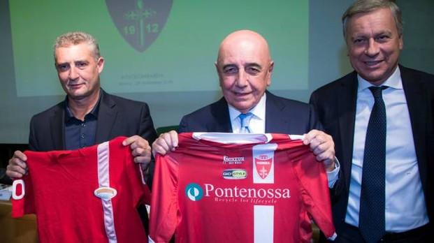 Даниэле Массаро, Адриано Галлиани и мэр Монцы Дарио Аллеви