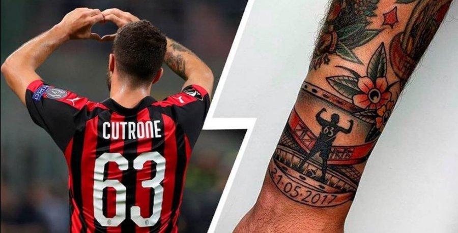 Татуировки футбольного клуба милан
