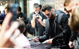 A.C. Milan - Stagione 2018-2019  - Evento presso Diesel store San Babila