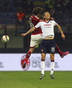 AC+Milan+v+Cagliari+Calcio+Serie+3tWNZpBV0Nll