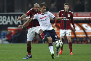 AC+Milan+v+Cagliari+Calcio+Serie+ljbLzjophwRl